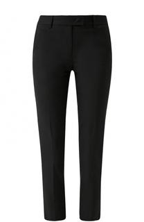 Укороченные хлопковые брюки со стрелками DKNY