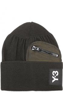 Шерстяная шапка бини Y-3