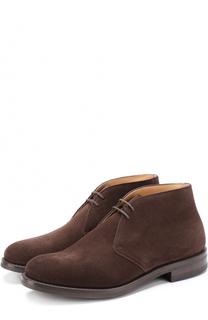 Замшевые ботинки на шнуровке Churchs