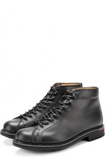 Кожаные ботинки на шнуровке Churchs