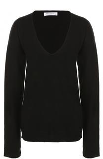 Кашемировый пуловер с V-образным вырезом Equipment