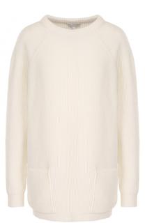 Удлиненный пуловер фактурной вязки Escada Sport