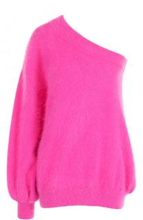 Пуловер свободного кроя с открытым плечом Emilio Pucci