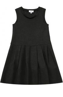 Трикотажное платье без рукавов с защипами Aletta