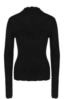 Облегающий свитер фактурной вязки Carven