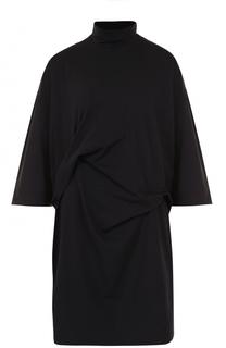 Хлопковое мини-платье свободного кроя Y-3