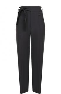 Укороченные шерстяные брюки с бантом Isabel Marant Etoile