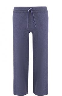 Укороченные хлопковые брюки с эластичным поясом Deha