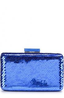Клатч Goa с вышивкой пайетками Oscar de la Renta