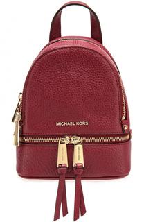 Кожаный рюкзак Rhea Zip XS MICHAEL Michael Kors