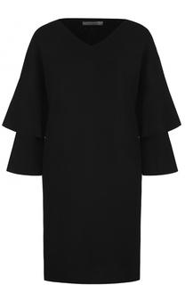 Мини-платье прямого кроя с V-образным вырезом D.Exterior