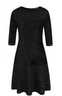 Приталенное мини-платье с укороченным рукавом D.Exterior