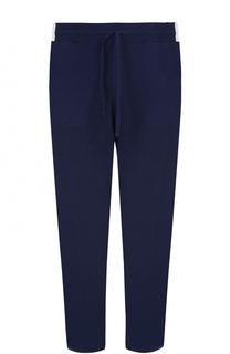 Кашемировые брюки прямого кроя с поясом на кулиске Svevo