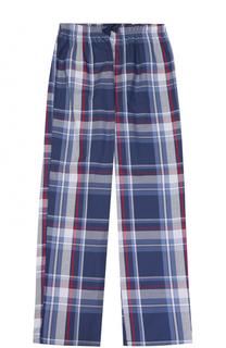 Хлопковые брюки с принтом Sanetta