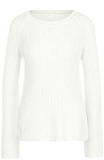 Пуловер фактурной вязки с круглым вырезом BOSS