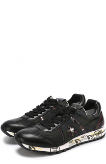 Комбинированные кроссовки Lucy-D на шнуровке Premiata