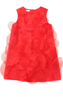 Мини-платье А-силуэта с декоративной отделкой I Pinco Pallino