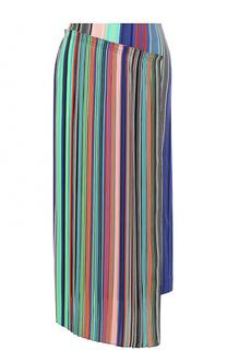 Юбка-миди асимметричного кроя в полоску Diane Von Furstenberg