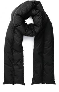 Пуховый стеганый шарф Rick Owens