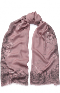 Кашемировый шарф с принтом Piacenza Cashmere 1733