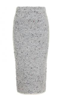 Вязаная юбка-карандаш Victoria by Victoria Beckham