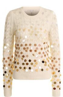 Пуловер с круглым вырезом и пайетками Marc Jacobs