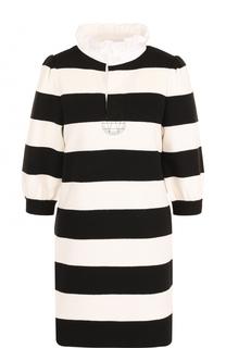 Мини-платье с контрастную полоску Marc Jacobs
