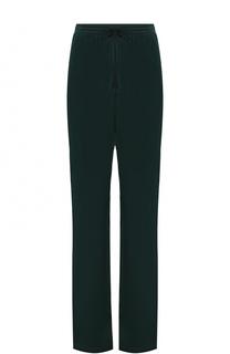 Однотонные брюки прямого кроя с эластичным поясом Mm6