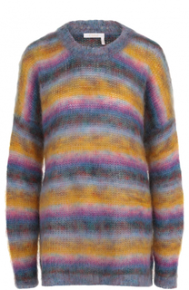 Пуловер свободного кроя с круглым вырезом Chloé