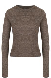 Приталенный пуловер с круглым вырезом Isabel Marant Etoile