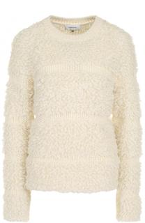 Вязаный пуловер с круглым вырезом Carven