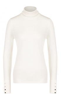 Шерстяной облегающий свитер BOSS