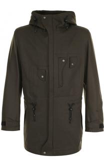 Шерстяная куртка на молнии с капюшоном Y-3