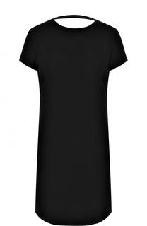 Приталенное мини-платье с открытой спиной Helmut Lang