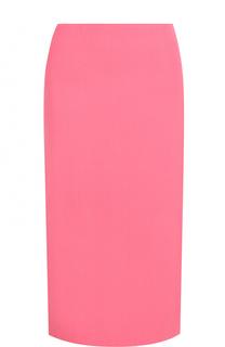 Однотонная юбка-миди Marni