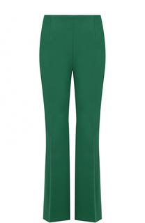 Шерстяные расклешенные брюки со стрелками Marni
