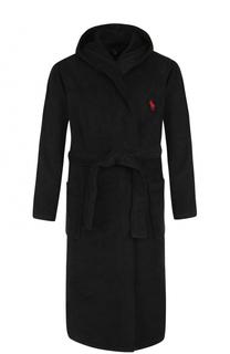 Хлопковый халат с капюшоном Ralph Lauren