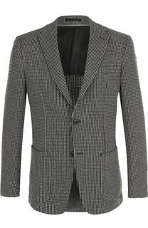 Шерстяной однобортный пиджак Z Zegna