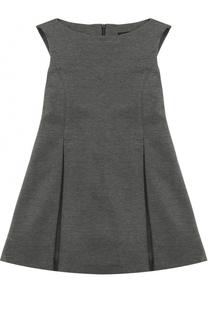 Приталенное платье с защипами Dal Lago