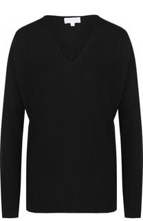 Шерстяной пуловер с V-образным вырезом Escada Sport