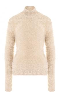 Приталенный свитер с высоким воротником Marni