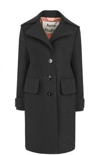 Шерстяное пальто свободного кроя Acne Studios