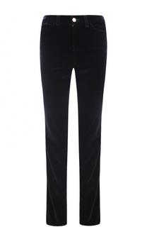 Бархатные джинсы прямого кроя Armani Jeans