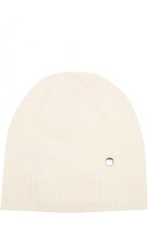 Вязаная шапка из смеси шерсти и кашемира Escada Sport
