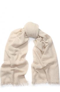 Кашемировый шарф с необработанным краем TSUM Collection