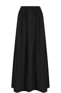 Однотонная юбка-макси с эластичным поясом Escada