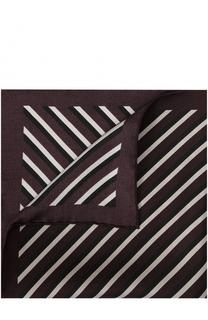 Шелковый платок в полоску Tom Ford