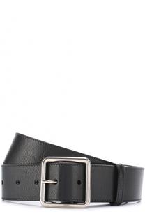 Кожаный ремень с металлической пряжкой Alexander McQueen