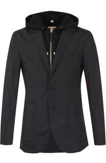 Однобортный пиджак с подстежкой Burberry