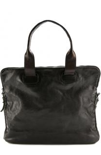 Кожаная сумка с плечевым ремнем Numero 10